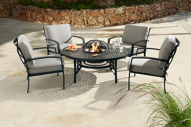 4 seater fire pit RT