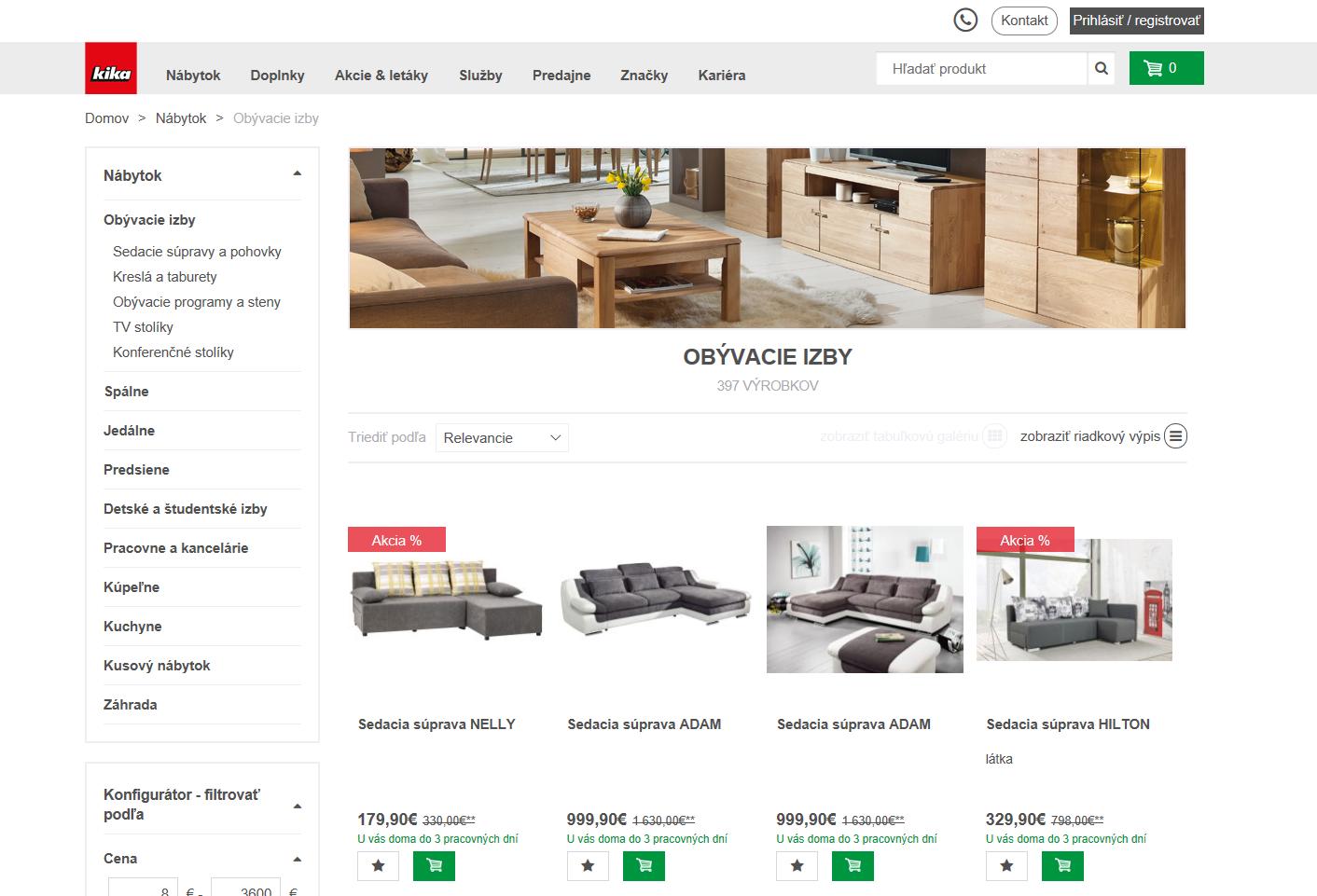 kika n bytok spustila nov e shop stavebn ctvo a b vanie. Black Bedroom Furniture Sets. Home Design Ideas