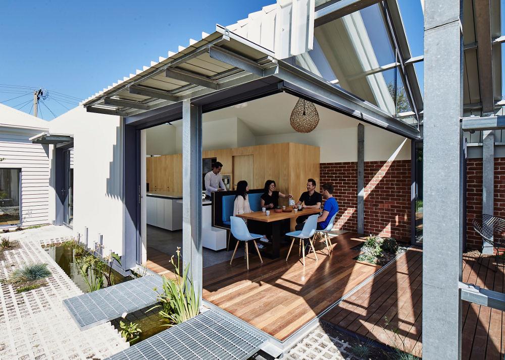 House Backyard Extension : Obna?en? dom v Melbourne  Stavebn?ctvo a b?vanie
